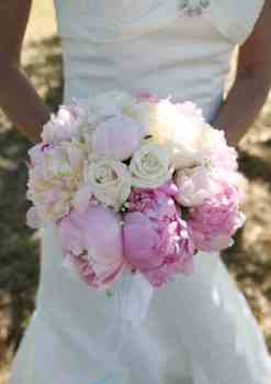 Peonies Wedding Flower Bouquet